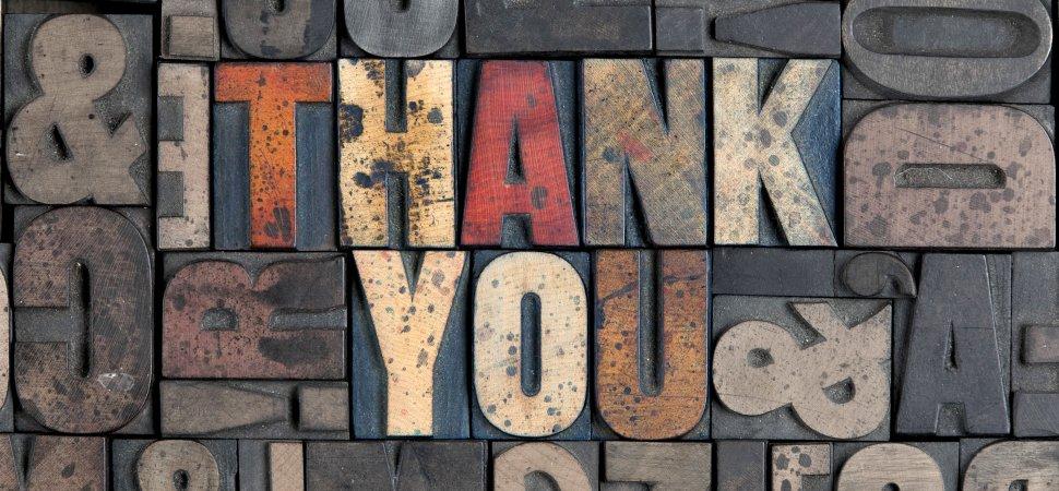 5 Modi Concreti Per Ringraziare In Inglese